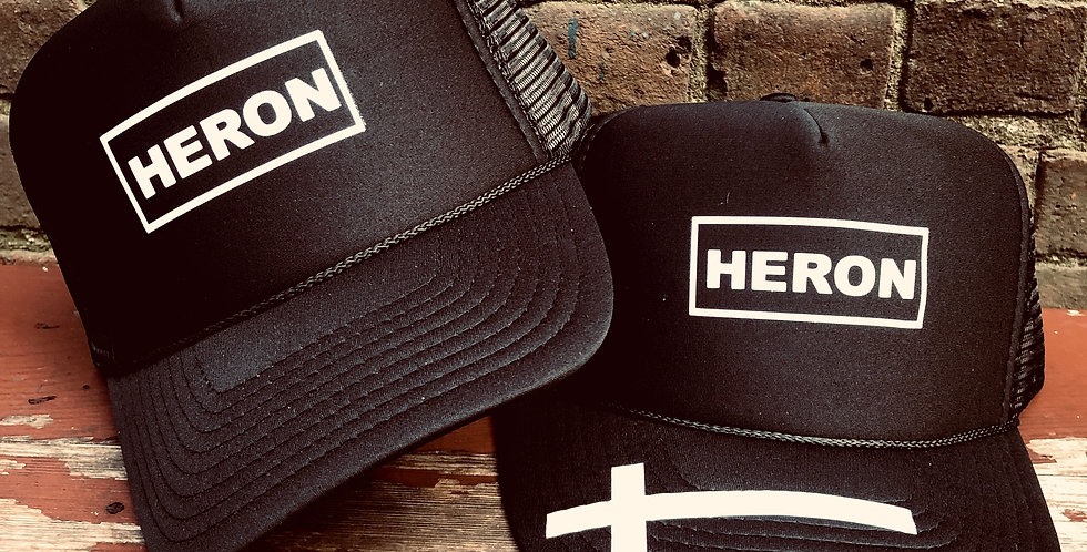 "Heron ""Label"" hat"