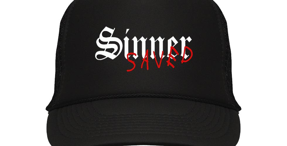 Saved Trucker Hat (Black)