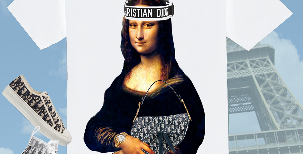 "Mona Lisa ""stush"" T-shirt"