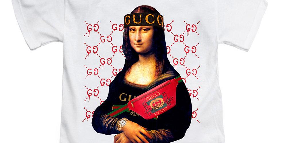 "Kids Mona Lisa ""Cross bag"" t-shirt"