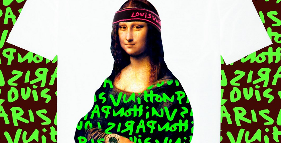 "Mona Lisa ""Sprouse"" t-shirt"