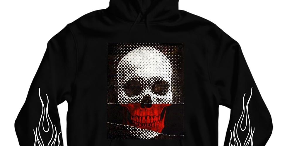 X-Ray Skull Hoodie (Black)