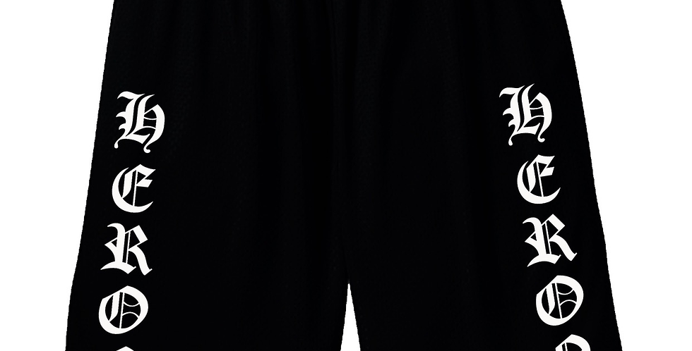 "Heron ""Old NY"" Shorts (Black)"