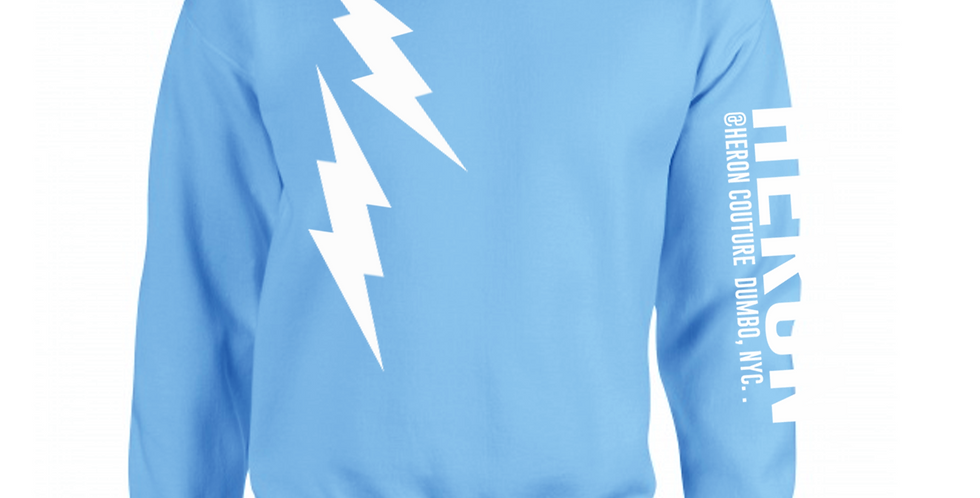 Bolt Crew neck (Carolina Blue)