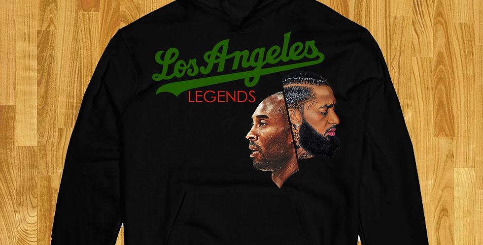 LA Legends Hoodie (Black/Pine)