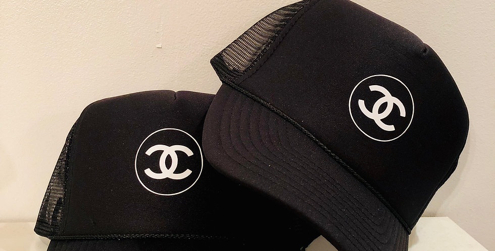 Double C's Trucker Hat (Black)