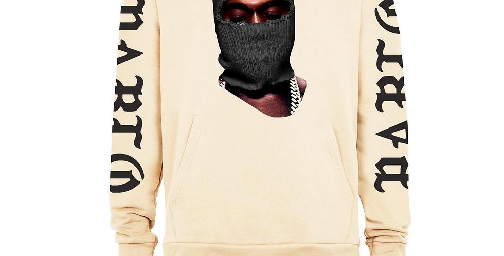 """Vintage """"YE"""" hoodie (light tan)"""