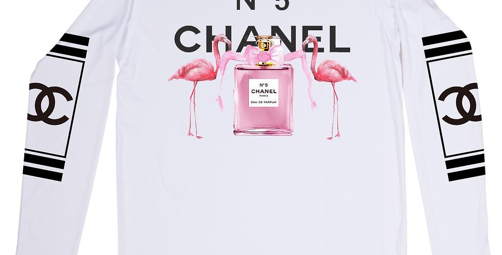 Pink Flamingo Perfume Top