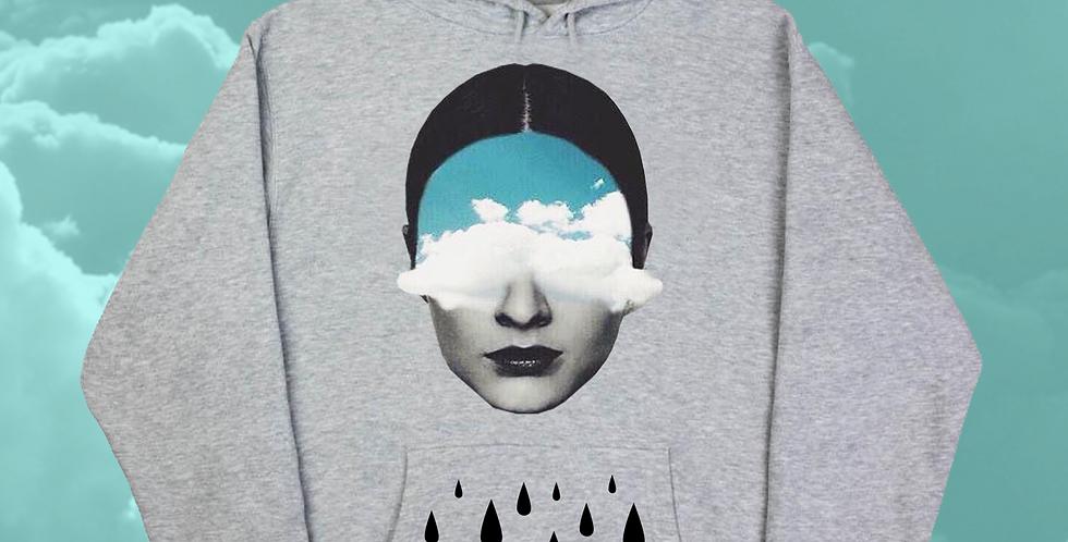 Sky fall hoodie (gray)