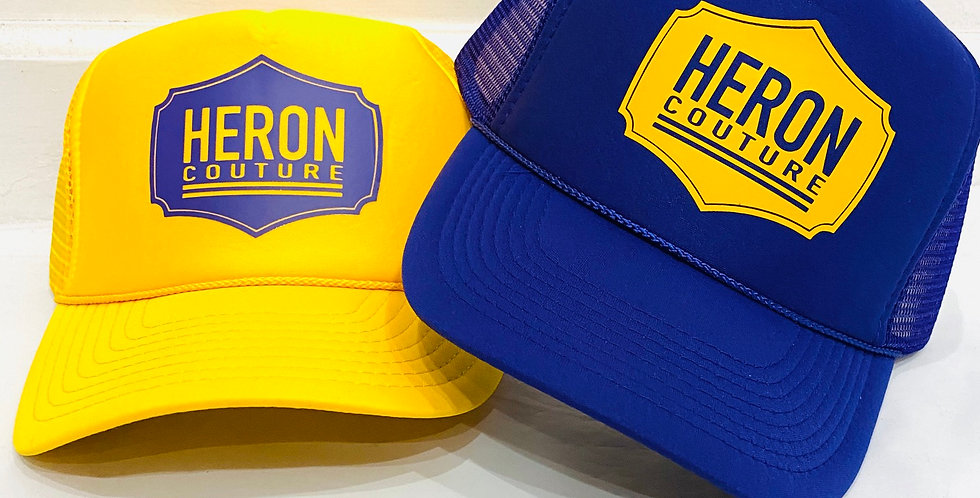 Heron Badge Trucker Hat