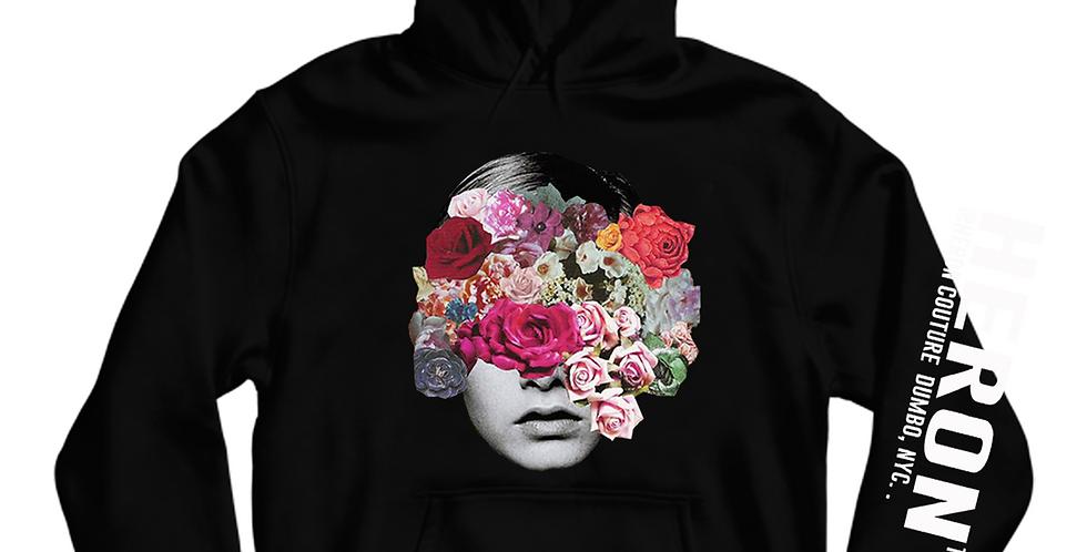 Botanical Hoodie (Black)