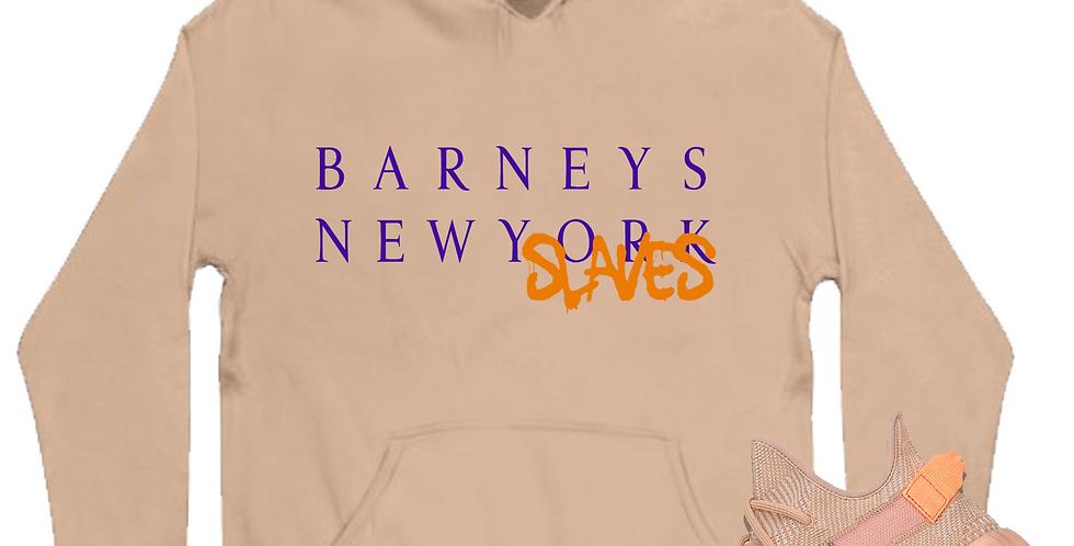 New slaves hoodie (clay)