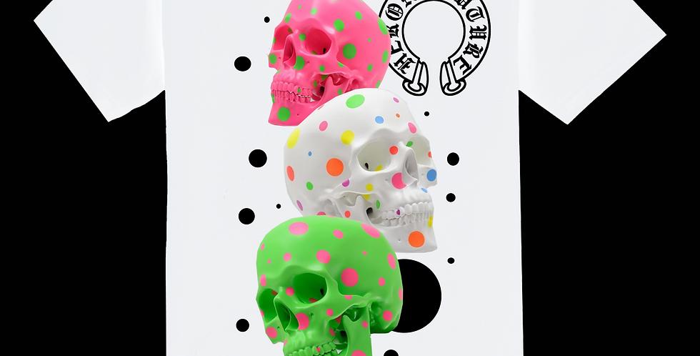 Confetti Skull T-shirt (White)