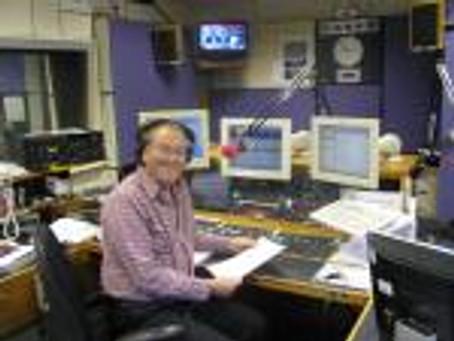 Avril on the Steve Scruton show at BBC Essex Radio