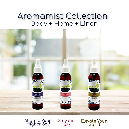 Aromamist Sampler Collection (Body + Home + Linen)