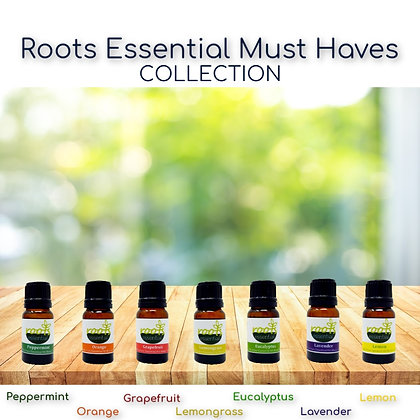 Roots Essential (8) Must-Haves Essential Oils