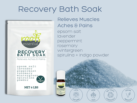 RECOVERY Bath Soak COLLECTION