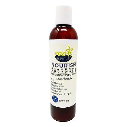 NOURISH Shampoo + Body wash
