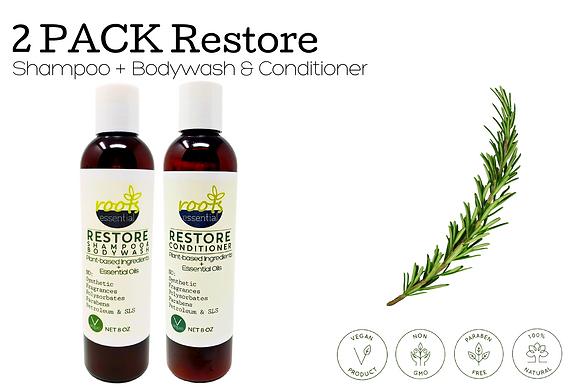 RESTORE Shampoo & Conditioner