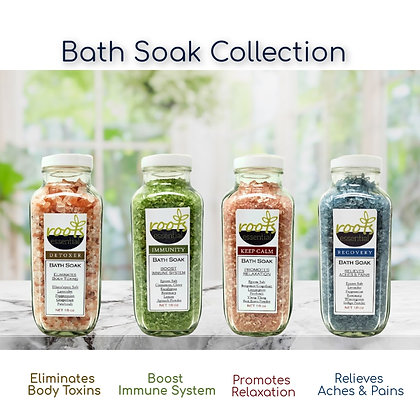 Roots Essential Bath Soaks Collection