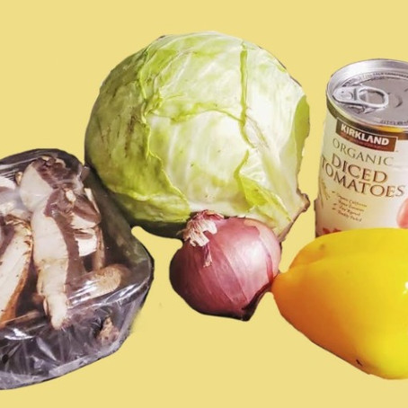 Cabbage Stew For The Cocooning Era  (No-Recipe Recipes, Vol. 1)