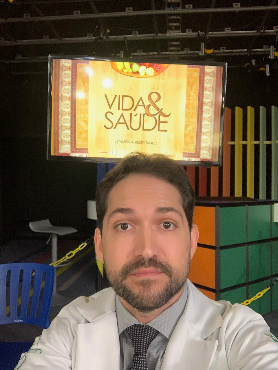 Dr Márcio Salmito, otoneurologista convidado para o Programa Vida & Saúde, da TV Novo Tempo.