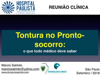 Reunião científica - Hospital Paulista