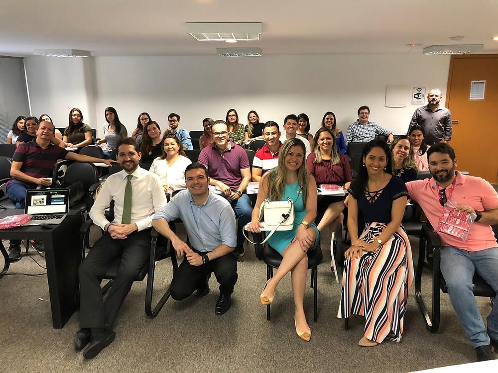 Curso VPPB - Natal/RN - Dr Márcio Salmito com a dedicada turma