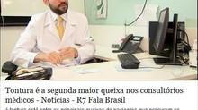 Tontura na mídia: Rede Record - Fala Brasil