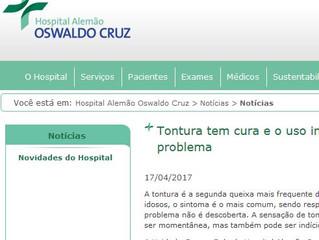 Notícias do Hospital Alemão Oswaldo Cruz