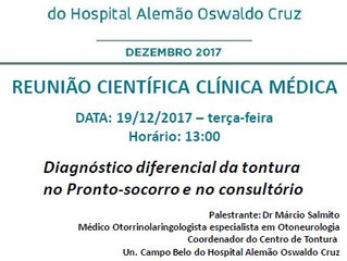 Reunião Clínica Médica - Hospital Alemão Oswaldo Cruz