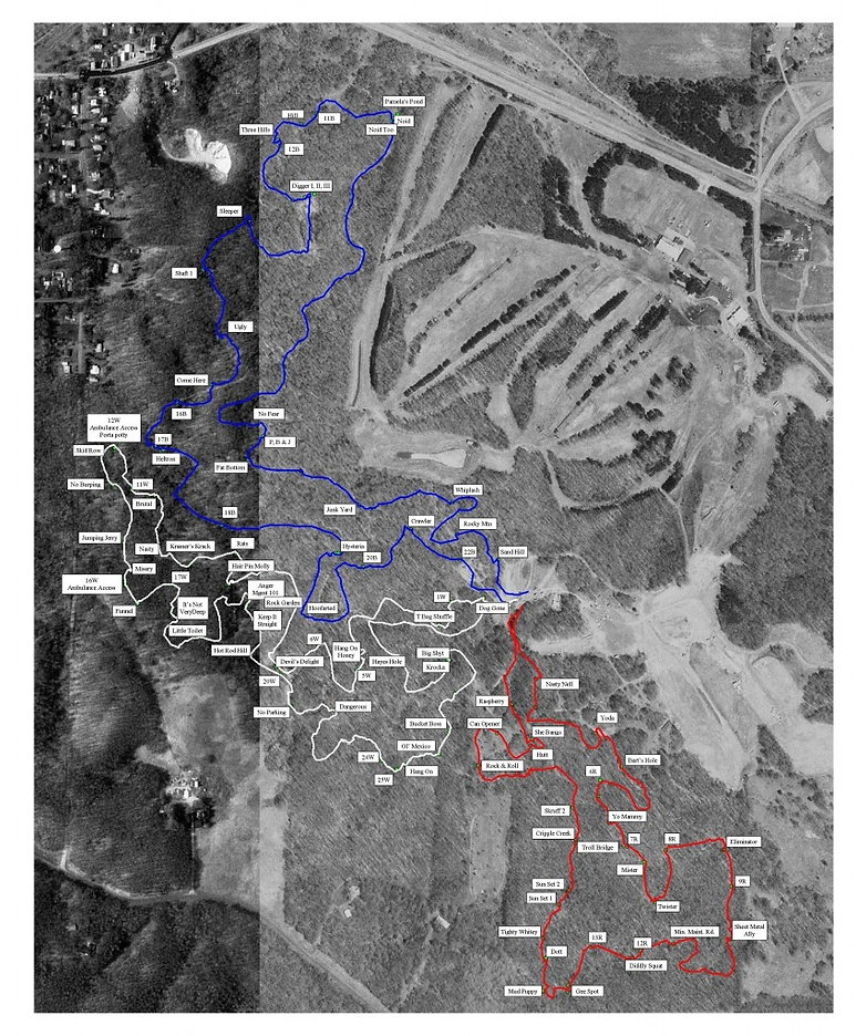 Dresser Trail Map