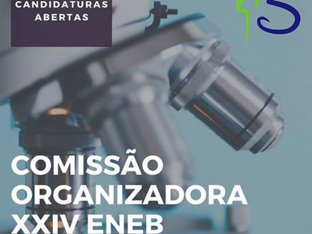 CANDIDATURAS PARA A COMISSÃO ORGANIZADORA DO XXIV ENEB