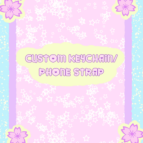 Custom Keychain/Phone strap