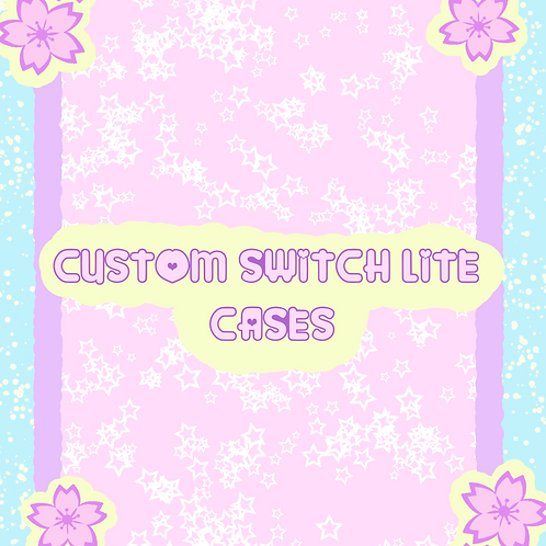 Custom Switch Lite Case