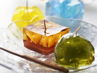 期間限定「夏の和菓子キャンドル」