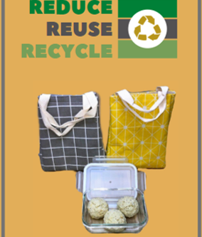Reuse. Reduce. Recycle