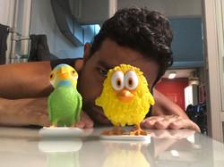 Con Pepe y Pio
