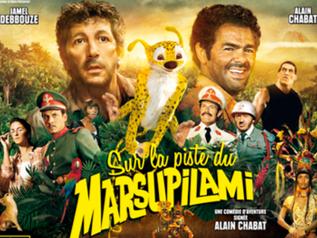 Sur la Psite du Marsupilami (Jamel Debbouze)