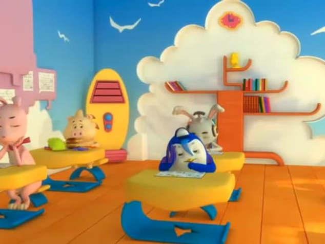 Dublagem Buffet Classroom (Luke)