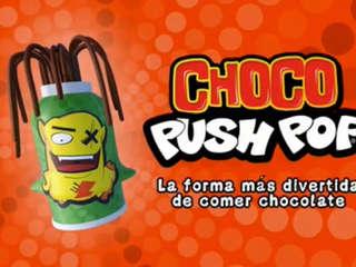 Locucion y Acting Choco Push Pop