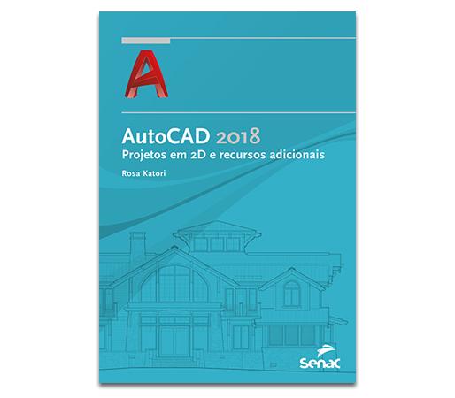 Livro AutoCAD 2D 2018