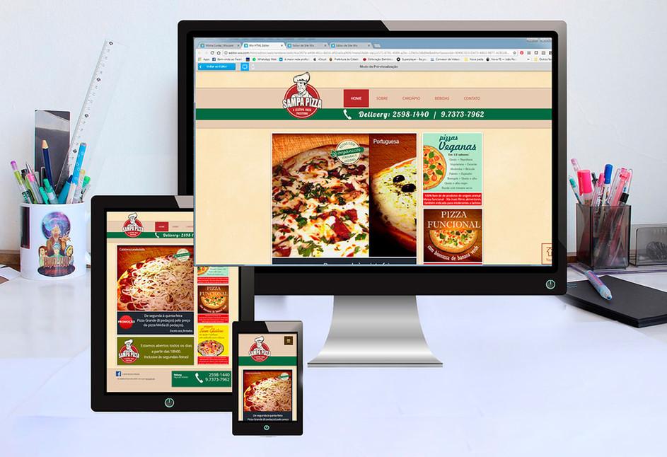 WEBSITE SAMPA PIZZA