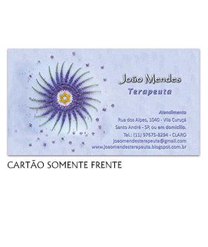 Cartão visita terapeuta