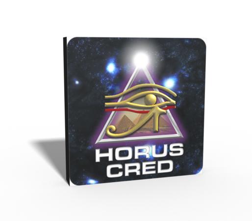 Logo 3D Horus Cred