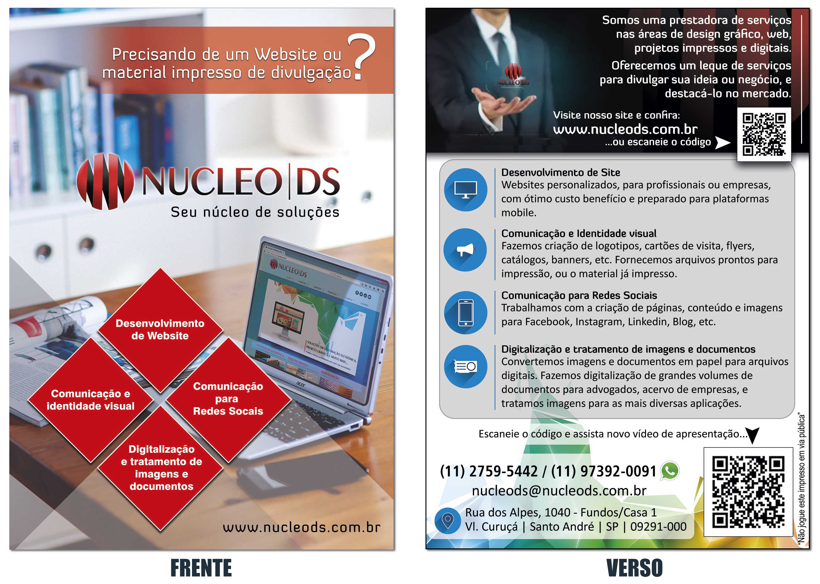 Flyer Nucleo DS