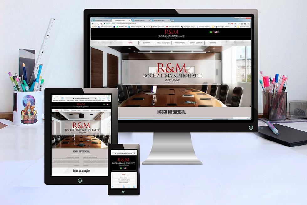 Site ROCHA LIMA Advogados
