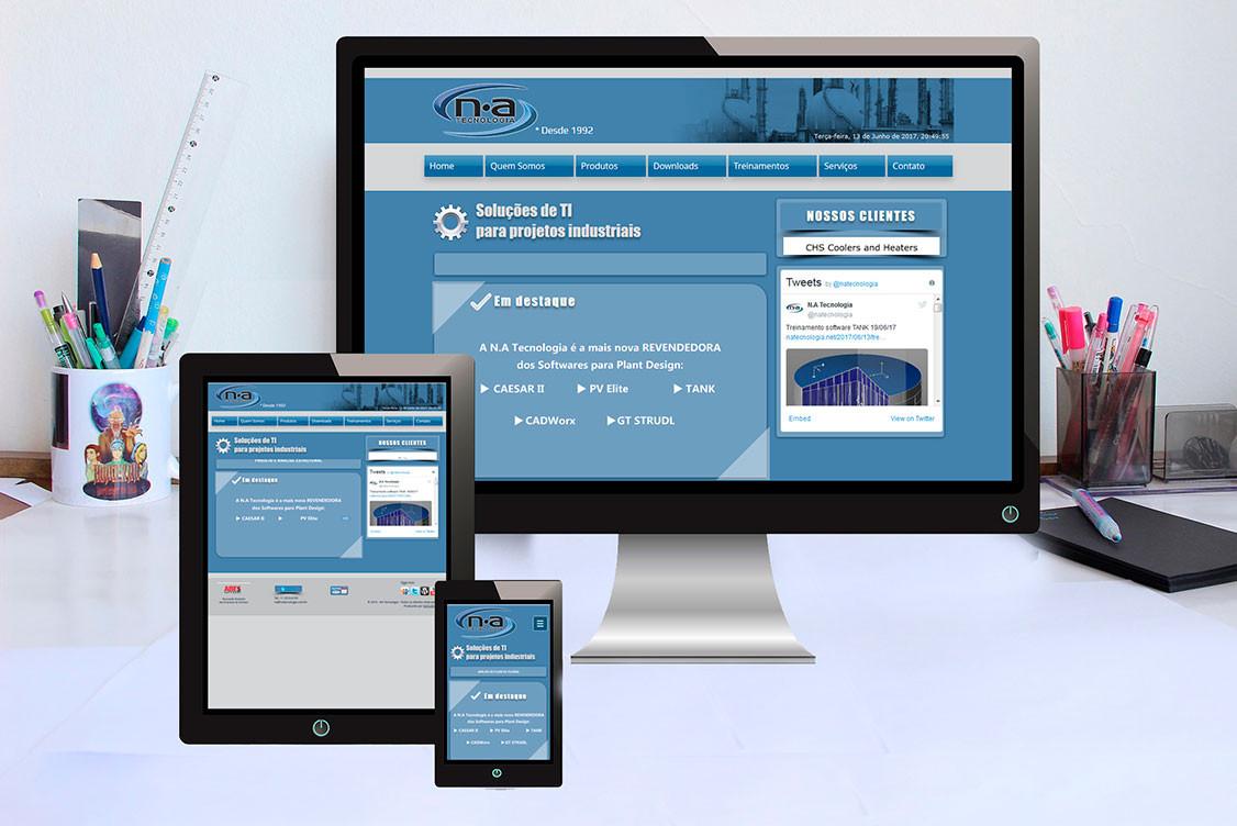 WEBSITE NA TECNOLOGIA