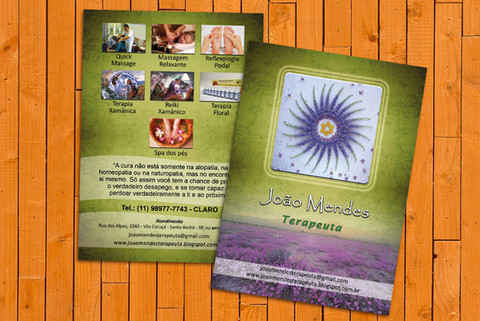 Flyer Terapeuta Joao