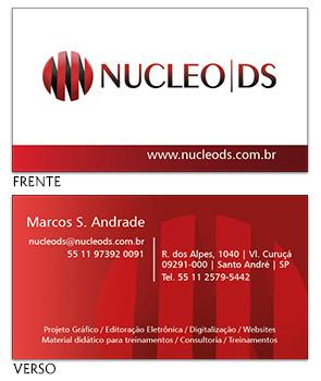 Cartão visita Nucleo DS